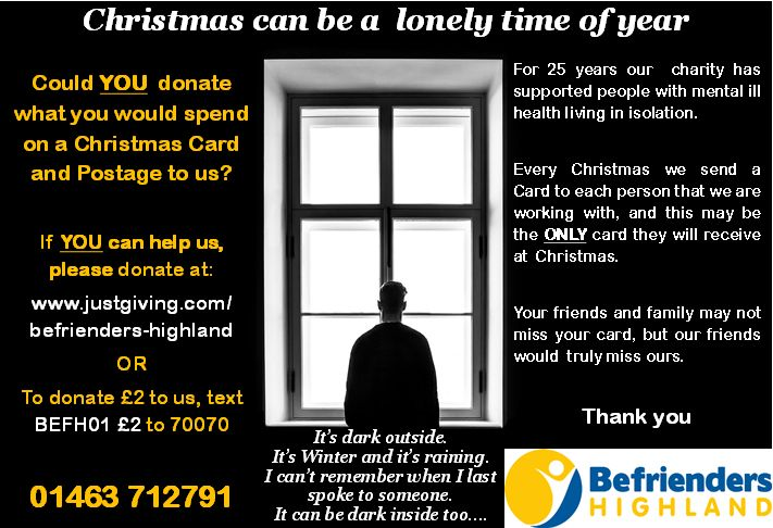 To donate £2 to us text 'BEFH01 £2' to 70070