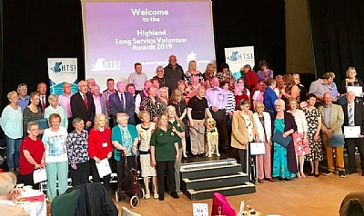 Highland Third Sector Interface Long Service Volunteer Awards 2019